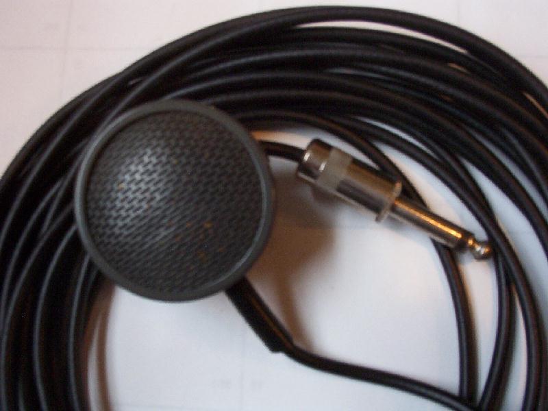 vintage mics shure 76b lapel mic jpg 67976 bytes